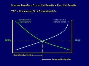 Max Net Benefits Comm Net Benefits Rec Net