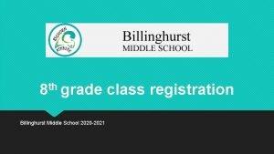 th 8 grade Billinghurst Middle School 2020 2021