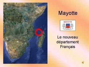 Mayotte Le nouveau dpartement Franais Mayotte nouveau dpartement