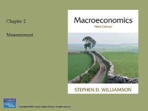 Chapter 2 Measurement Copyright 2008 Pearson AddisonWesley All