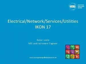 ElectricalNetworkServicesUtilities IKON 17 Gabor Laszlo NSS Lead Instrument