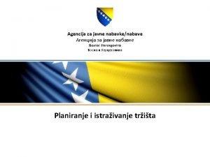 Agencija za javne nabavkenabave Bosna i Hercegovina Planiranje