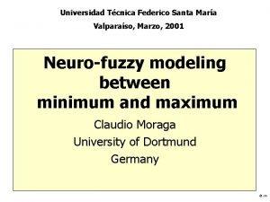 Universidad Tcnica Federico Santa Mara Valparaso Marzo 2001