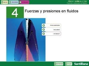 INICIO ESQUEMA 4 FSICA Y QUMICA 4 ESO