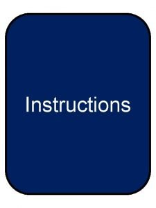 Instructions Game Rules What is it Acrostic Poem