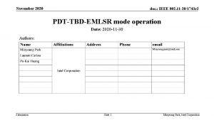 November 2020 doc IEEE 802 11 201743 r