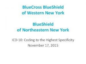 Blue Cross Blue Shield of Western New York