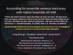 Accounting for ensemble variance inaccuracy with Hybrid Ensemble