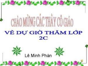 L Minh Phn Kim tra Th t ngy