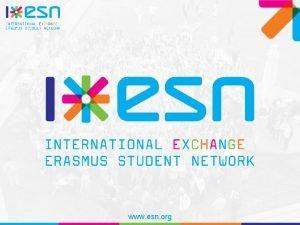 www esn org Mi az az ESN www