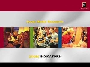 Zoom Media Research ZOOM INDICATORS Nov 2003 U
