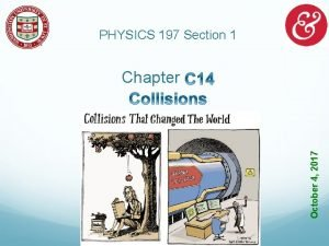 PHYSICS 197 Section 1 October 4 2017 Chapter