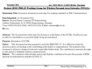 November 2012 doc IEEE 802 15 12 0652