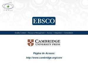 Quality Content Resource Management Access Integration Consultation Pgina