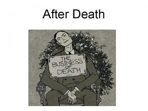 After Death Uniform Determination of Death Act UDDA