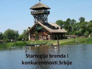 Startegija brenda i konkurentnosti Srbije Vlada Srbije odredila