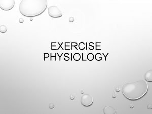 EXERCISE PHYSIOLOGY STRENGTH WHAT IS STRENGTH THE APPLICATION