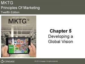 MKTG Principles Of Marketing Twelfth Edition Chapter 5