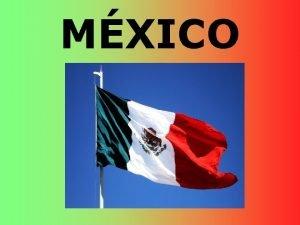 MXICO Geografa El territorio El relieve Volcn Pico