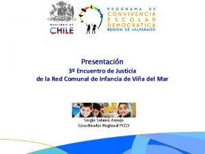 Presentacin 3 Encuentro de Justicia de la Red