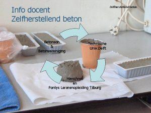 Info docent Zelfherstellend beton Betonson Betonvereniging Zelfherstellend beton