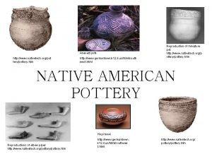 Anasazi pots http www nativetech orgpot terypottery htm