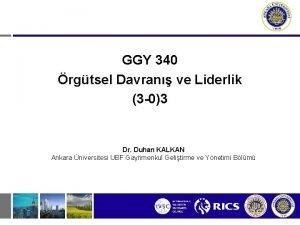 GGY 340 rgtsel Davran ve Liderlik 3 03