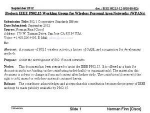 September 2012 doc IEEE 802 15 12 0510