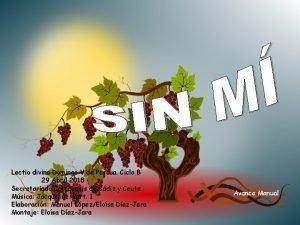 Lectio divina Domingo V de Pascua Ciclo B