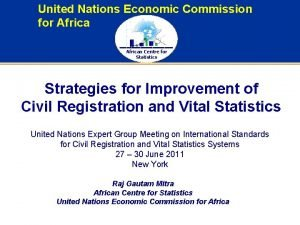 United Nations Economic Commission for African Centre for