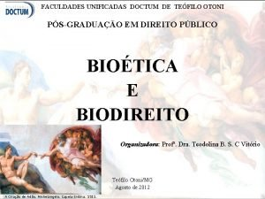 FACULDADES UNIFICADAS DOCTUM DE TEFILO OTONI PSGRADUAO EM