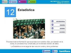 INICIO ESQUEMA 12 INTERNET MATEMTICAS 4 ESO opcin