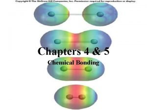 Chapters 4 5 Chemical Bonding Valence Electrons Outermost
