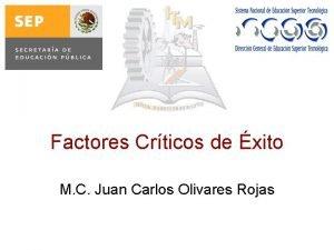 Factores Crticos de xito M C Juan Carlos