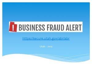 https secure utah govabr Utah 2014 Description of