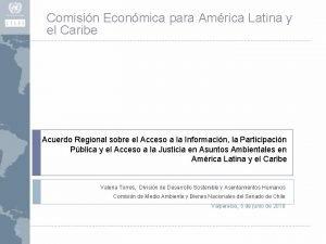 Comisin Econmica para Amrica Latina y el Caribe
