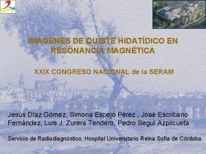 IMGENES DE QUISTE HIDATDICO EN RESONANCIA MAGNTICA XXIX