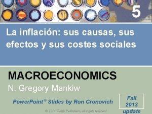 5 La inflacin sus causas sus efectos y