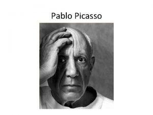 Pablo Picasso Pablo Diego Jos Francisco de Paula
