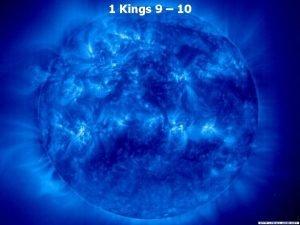 1 Kings 9 10 1 Kings 9 1