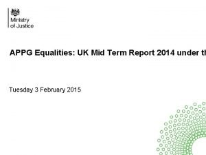 APPG Equalities UK Mid Term Report 2014 under