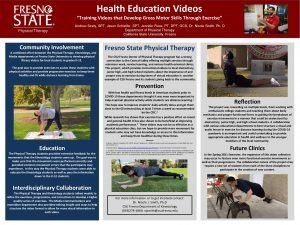 Health Education Videos Training Videos that Develop Gross