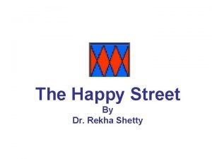 The Happy Street By Dr Rekha Shetty Collection