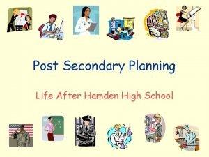 Post Secondary Planning Life After Hamden High School