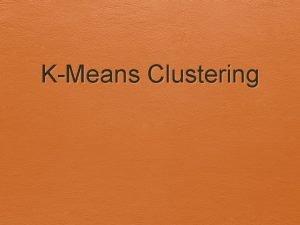 KMeans Clustering Algoritma KMeans Euclidean Distance Rumus Euclidean