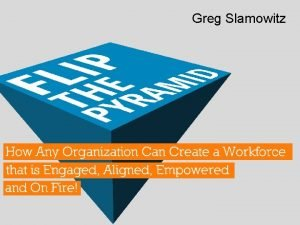 Greg Slamowitz Greg Slamowitz Multipliers How the Best