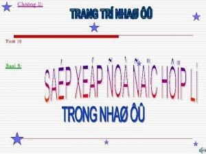 Chng II Tiet 19 Bai 8 I VAI