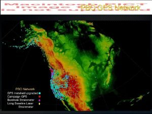 PBO GPS Network PBO GPS Network GPS Station