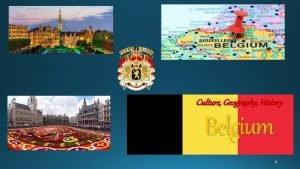 Culture Geography History Belgium The Kingdom of Belgium