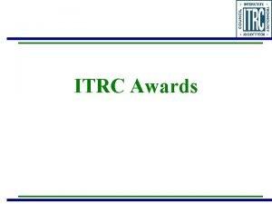 ITRC Awards State Engagement Awards 2 Team Awards